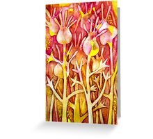 Weird flowers Greeting Card