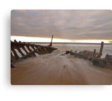 Sunrise at Dick Beach Metal Print