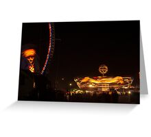 Carnival Night Light Greeting Card
