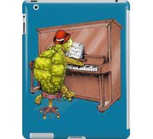 Piano Playing Turtle Art iPad Case/Skin