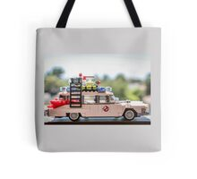 Ghost Rider Ecto 1 Tote Bag