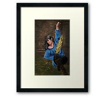 The thief Framed Print