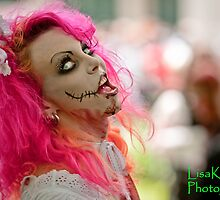 the Pink Zombie by Lisa  Kenny