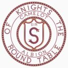 Arthurian Legends  Knights of the Round Table sample initial by 123jim