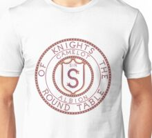 Arthurian Legends  Knights of the Round Table sample initial Unisex T-Shirt