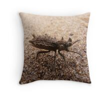 Spiny Devil Throw Pillow