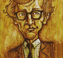 Woody Allen by Grant Lankard