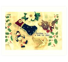 Christmas is......a time for peace Art Print