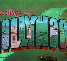 Greetings from Hollywood by Damien  Dust