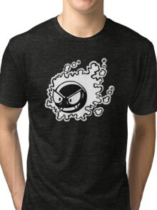Ghastly - Black and White Tri-blend T-Shirt
