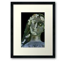 Mary Brokin' Framed Print