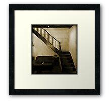 Retro Cafe - Fremantle W.A. Framed Print