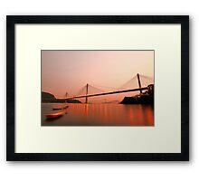 Top Bridge Framed Print