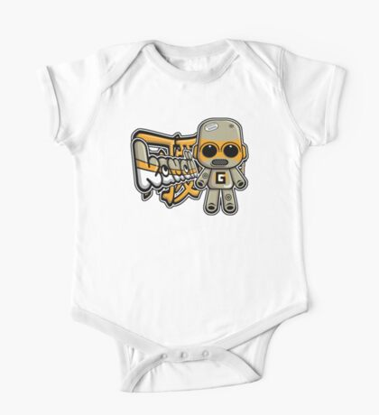 Gadget Mascot Tag One Piece - Short Sleeve