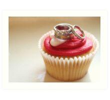 I Do (Love Cupcakes) Art Print