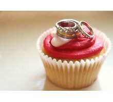 I Do (Love Cupcakes) Photographic Print