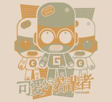 Gadget Mascot Stencil by KawaiiPunk