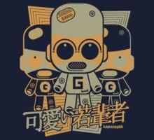 Gadget Mascot Stencil One Piece - Short Sleeve