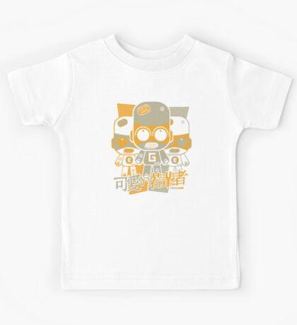 Gadget Mascot Stencil Kids Tee