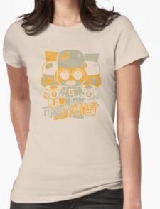 Gadget Mascot Stencil Womens Fitted T-Shirt