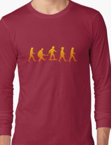 Marty was here Long Sleeve T-Shirt