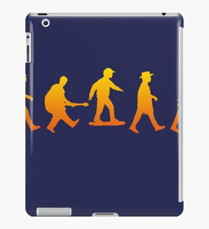Marty was here iPad Case/Skin