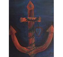 Anchored Love Original by LindaGLarsen Photographic Print