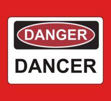 Danger Dancer - Warning Sign One Piece - Short Sleeve
