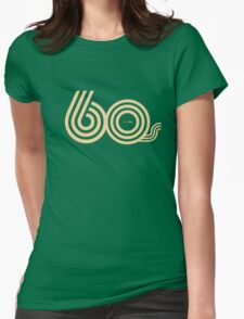 Born in the 60's Womens Fitted T-Shirt