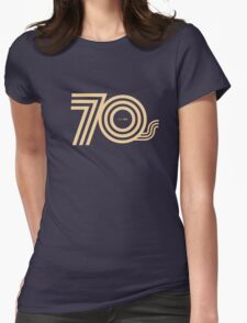 Born in the 70's Womens Fitted T-Shirt