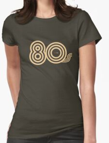 Born in the 80's Womens Fitted T-Shirt