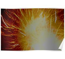 Dramatic Flares Poster