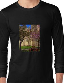 Exeter Cathedral Cafe Long Sleeve T-Shirt