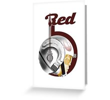 Red5 Greeting Card