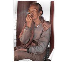 Burmese Woman  Poster