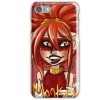 Monkey Oolong Peach and Passion Fruit Tea iPhone Case/Skin
