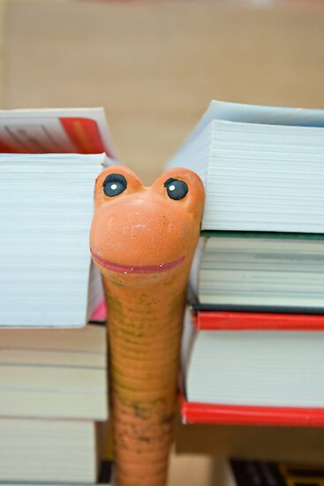 Another bookworm by Mark  Humphreys