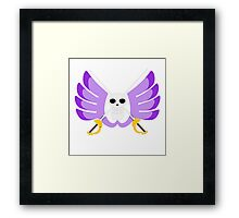 bird flag Framed Print