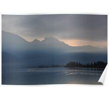 Lake at Dusk, Germany Poster