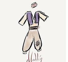 Aladdin Costume iPhone Case by Wfam21