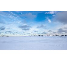 Winter, Northern Ontario Photographic Print