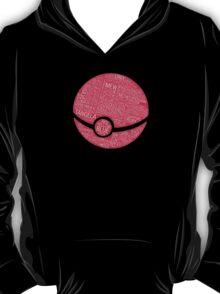 Typography Pokeball T-Shirt