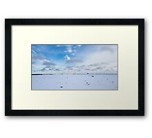 Winter 2, Northern Ontario Framed Print