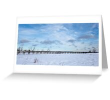Bridge to Nowhere, Northern Ontario Greeting Card