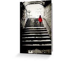 Up the stairs Greeting Card