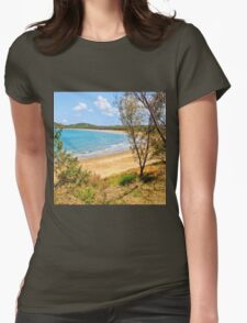 Peaceful Bay through the trees T-Shirt