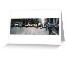 NEW YORK STREET Greeting Card