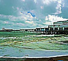 SANDOWN ISLE OF WIGHT by Terry Collett