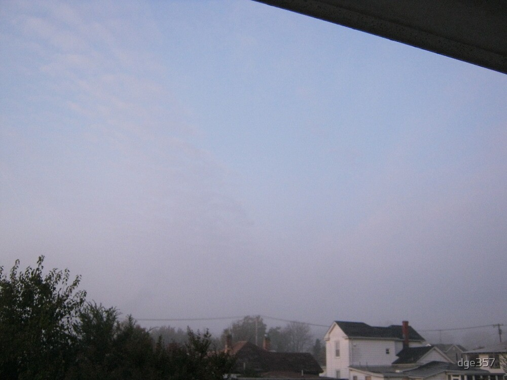 10/31/11- Strange Halloween Morning Mist 2 by dge357
