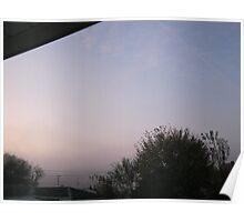 10/31/11- Strange Halloween Morning Mist 4 Poster